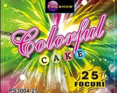 Baterie Colorful Cake 25F, calibru 20mm
