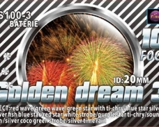 Baterie Golden Dream 3 100F, calibru 20mm