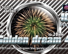 Baterie Golden Dream 4 100F, calibru 20mm